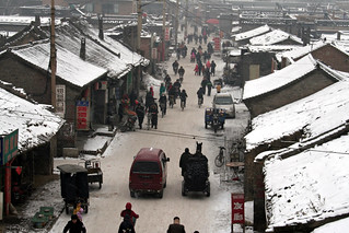 Pingyao in the winter snow, China, 2008 | by EmmaJG