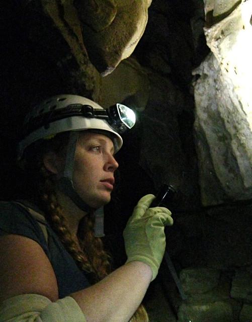 Alexis Lienhart, Blue Spring Cave, White Co, TN