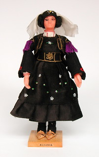 Doll from Albania front view (Has District?)