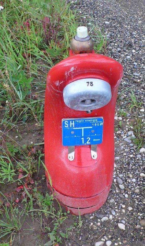 Swiss designer hydrant