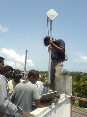 WiMAX Antenna installation | by koolb