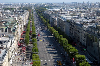 Paris - View of Avenue des Champs-Élysées from Arc de Triomphe de l'Étoile | by wallyg