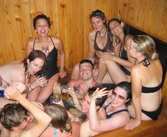 Hot Tub orgie