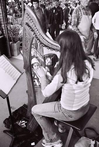 market girl harp