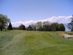 hole one again, but with great sunshine