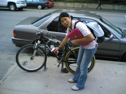 Tim bikes tim does