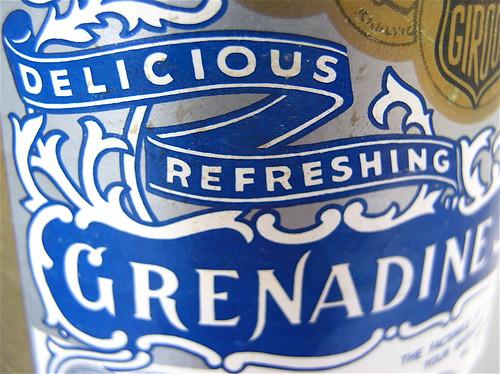 Delicious Refreshing Grenadine.