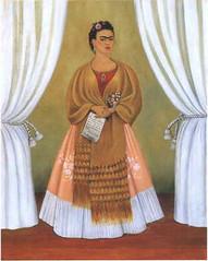 Frida Khalo autorretrato