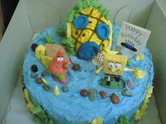 simon's bday cake