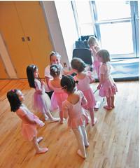 Melissa's ballet class