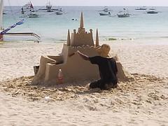 The Sand Castle Man
