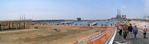 Entrada al port de Badalona