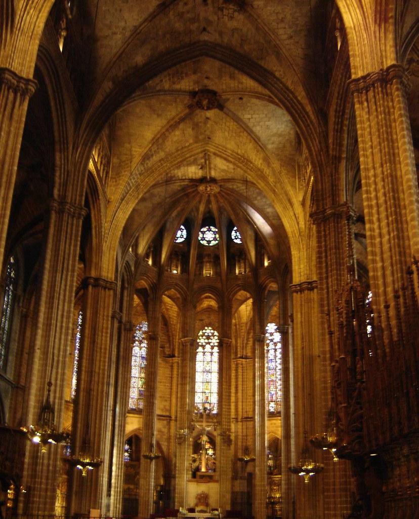 Interior De La Catedral De Barcelona Inside Barcelona S Ca Flickr