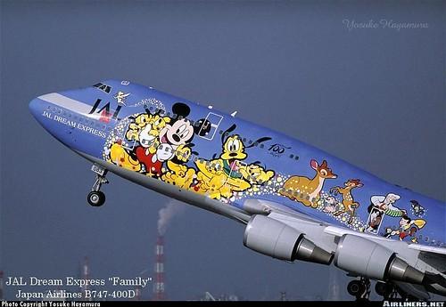 Disney airliner