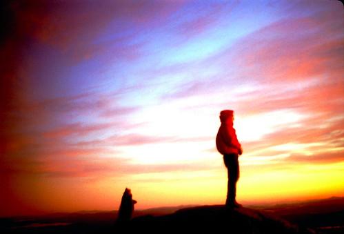 Mount Monadnock Sunrize, circa 1992.