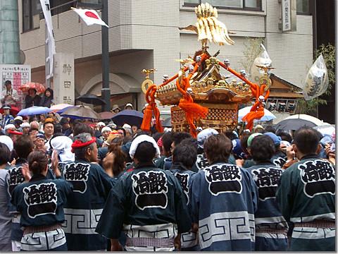 神田祭・神輿宮入 photo by OptioS