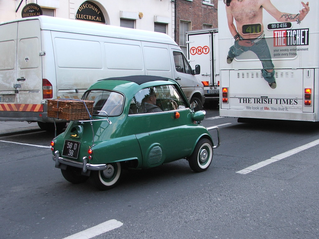 Bubble Car Bmw Isetta Flickr Photo Sharing