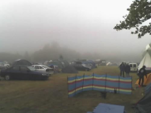 Fog and rain