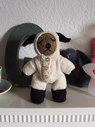bear lamb suit