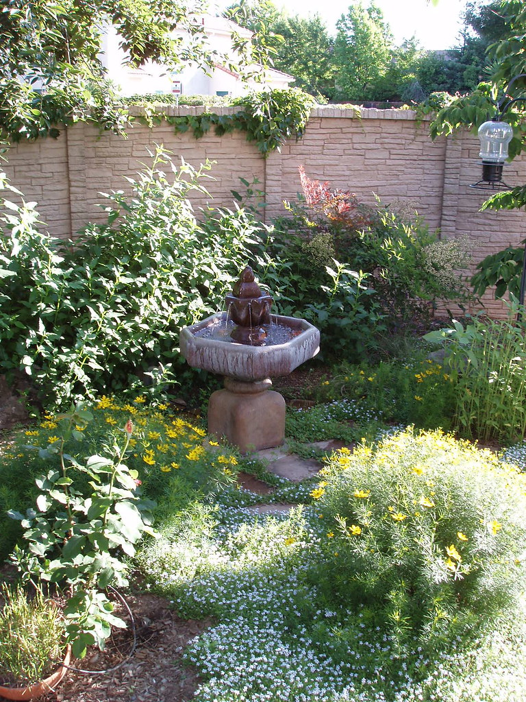 Early Summer Fountain