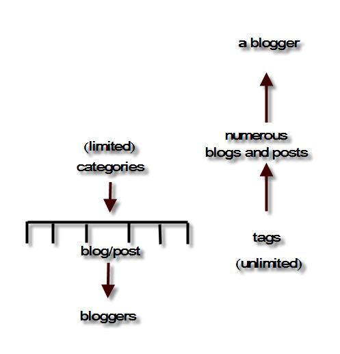 category vs tag