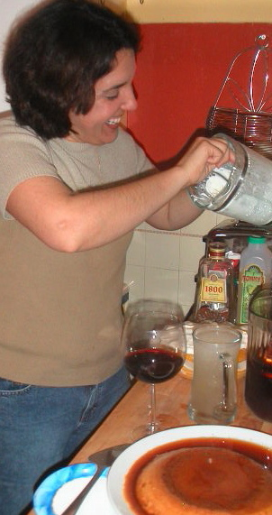 Fran cooking