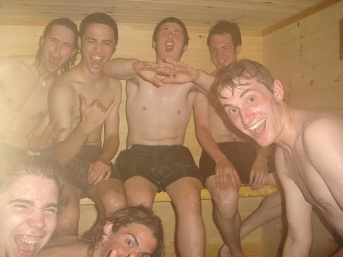 Eight men and a burning Wang