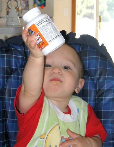 Vitamins Make Me Strong!