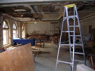 soon to be restored ballroom