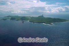 Vista aérea de Noronha
