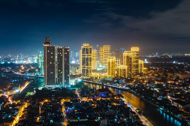 Glowing Rockwell Skyscrapers
