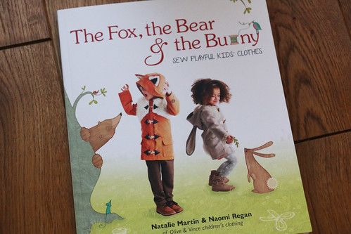 The Fox, the Bear & the Bunny Sewing book by Olive & Vince   by English Girl at Home