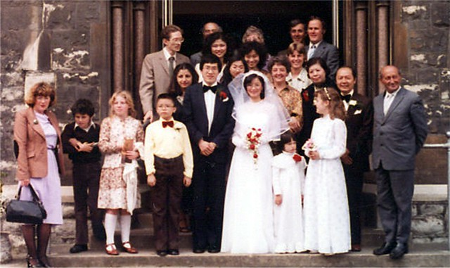 Dorothy and Jimmy's wedding