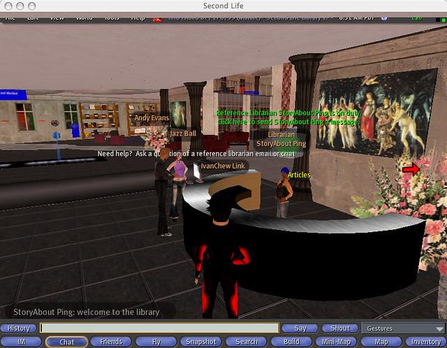 screenshot_Info Island - Second Life Library 2 0  | 6 Oct 20