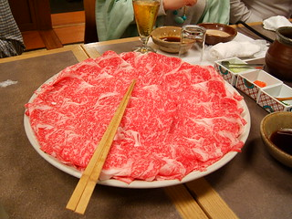 Japanese sukiyaki meat | by LHOON