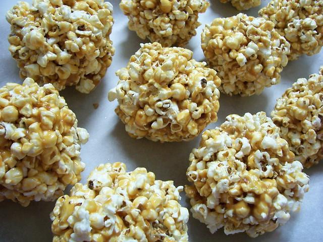 Popcorn balls for Halloween IV