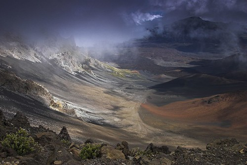 mist clouds volcano hawaii lava bravo day cloudy maui haleakala crater magicdonkey specland specnature excellentscenic