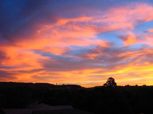 sunset pretoria