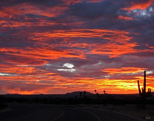 sunset arizona desert greenvalley aplusphoto arizonapassages