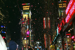 Times Square on New Years' Eve 1999-2000, New York, USA | by Paul Mannix