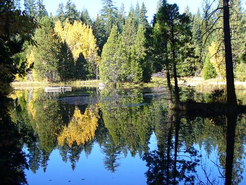 Snowshoe Lake in Fall
