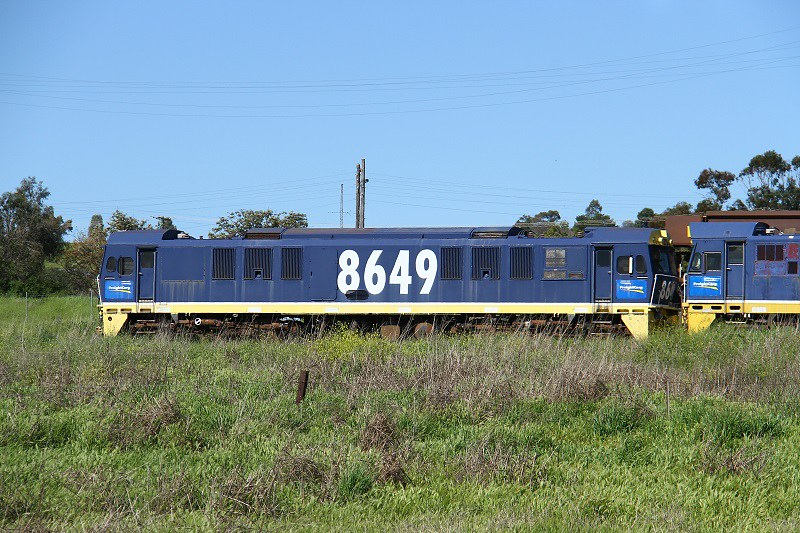 8649 at Werris Creek by David Arnold