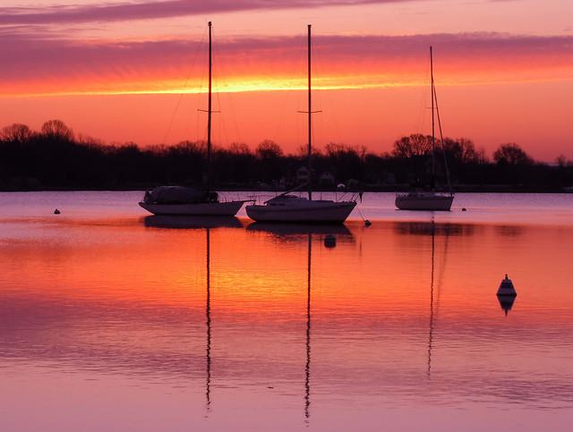 Sunrise on West River, Maryland