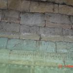 小吳哥長廊壁畫上的磚塊