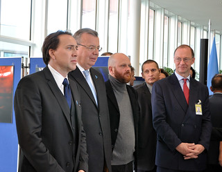 Nicolas Cage at the Conference of Parties to the United Nations Convention on Transnational Organized Crime (UNTOC)
