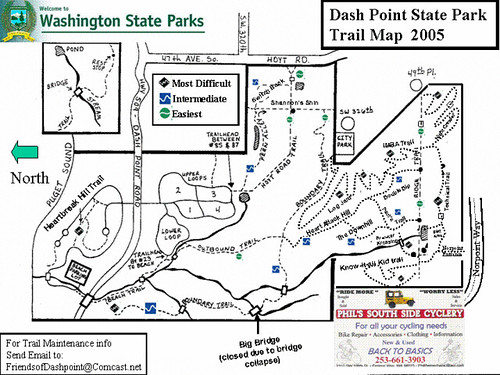 Dash Point Trail Map   hsidhom_2000   Flickr on