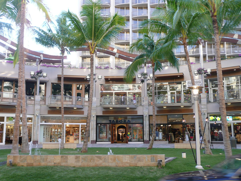 Waikiki Beach Walk Near Embassy Suites