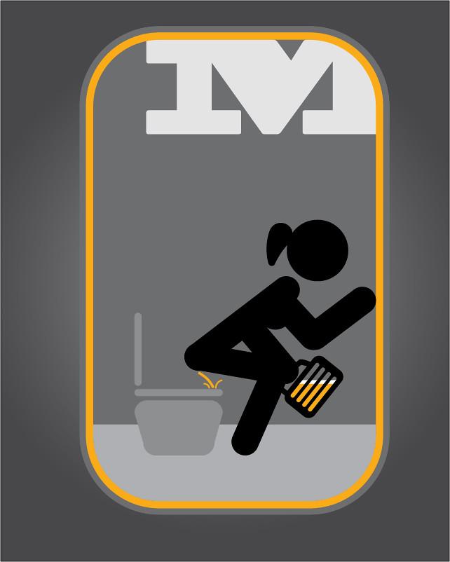 e3da9082cba1 Señaletica para baño de mujeres | felipe sandoval | Flickr