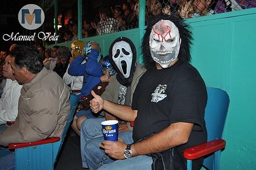 DSC_0418 Horus, Guerrero Maya y Tigre Blanco vs Puma King, Tiger Kidd y Bronco por LAE Manuel Vela