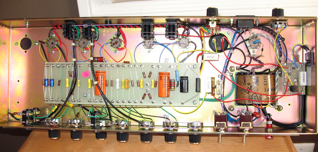 Brilliant Ceriatone 18W Tmb Tube Amp Wiring This Wiring Is So Ridicu Flickr Wiring 101 Vieworaxxcnl